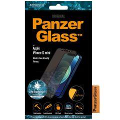 PanzerGlass Pellicola Protettiva Privacy Case Friendly iPhone 12 Mini