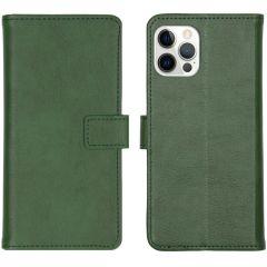 iMoshion Custodia Portafoglio de Luxe iPhone 12 (Pro) - Verde