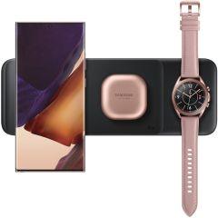 Samsung Trio di caricabatterie senza fili Trio Samsung / Galaxy Watch / Galaxy Buds - Nero
