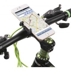 GUB Supporto per cellulare universale G86 per bici - Nero