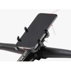 GUB Supporto per cellulare universale Pro 3 per bici / moto - Nero