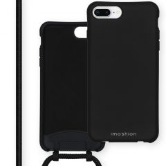 iMoshion Cover Color con Cordino staccabile iPhone 8 Plus / 7 Plus / 6(s) Plus - Nero