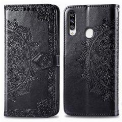 iMoshion Custodia Portafoglio Mandala Samsung Galaxy A20s - Nero