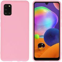 iMoshion Cover Color Samsung Galaxy A31 - Rosa