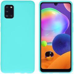 iMoshion Cover Color Samsung Galaxy A31 - Verde menta