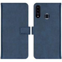 iMoshion Custodia Portafoglio de Luxe Samsung Galaxy A20s - Blu scuro