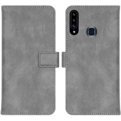 iMoshion Custodia Portafoglio de Luxe Samsung Galaxy A20s - Grigio