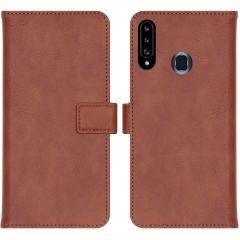 iMoshion Custodia Portafoglio de Luxe Samsung Galaxy A20s - Marrone