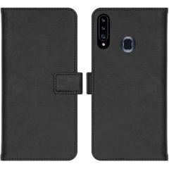iMoshion Custodia Portafoglio de Luxe Samsung Galaxy A20s - Nero
