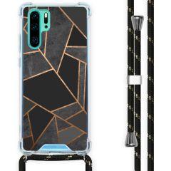 iMoshion Cover Design con Cordino Huawei P30 Pro - Black Graphic