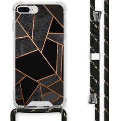 iMoshion Cover Design con Cordino iPhone 8 Plus / 7 Plus - Black Graphic