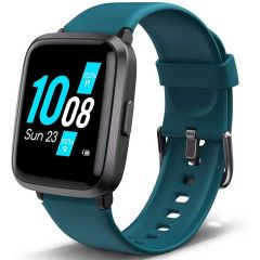 Lintelek Cinturino fitness per smartwatch 205U - Blu