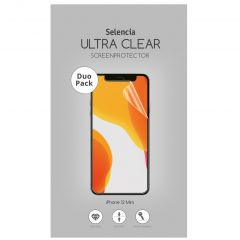 Selencia Pellicola Protettiva Ultra Trasparente Duo Pack iPhone 12 Mini