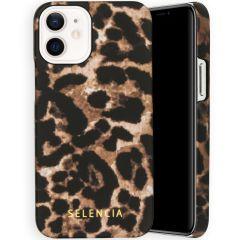 Selencia Maya Cover Fashion iPhone 12 Mini - Brown Panther