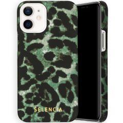 Selencia Maya Cover Fashion iPhone 12 Mini - Green Panther