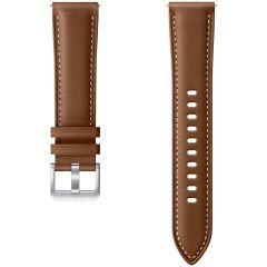 Samsung Cinturino in Pelle Samsung Galaxy Watch Active 2 / Watch 3 41mm - Marrone