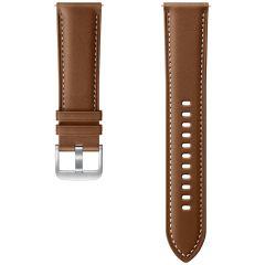 Samsung Cinturino in Pelle Watch 46mm / Gear S3 Frontier / Classic / Watch 3 45mm - Marrone