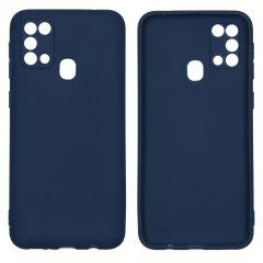 iMoshion Cover Color Samsung Galaxy M31 - Blu scuro