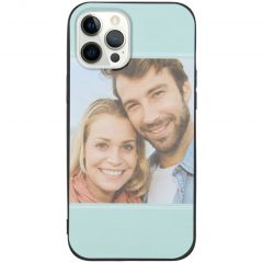 Cover Flessibile Personalizzate iPhone 12 Pro Max - Nero
