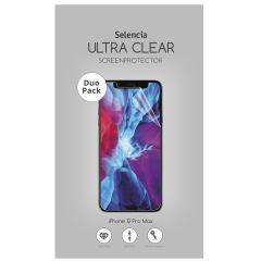 Selencia Pellicola Protettiva Ultra Trasparente Duo Pack iPhone 12 Pro Max