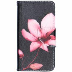 Custodia Portafoglio Flessibile iPhone SE / 5 / 5s - Flowers