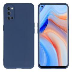 iMoshion Cover Color Oppo Reno4 Pro 5G - Blu scuro