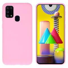iMoshion Cover Color Samsung Galaxy M31 - Rosa