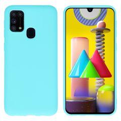 iMoshion Cover Color Samsung Galaxy M31 - Verde menta