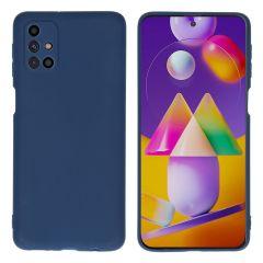 iMoshion Cover Color Samsung Galaxy M31s - Blu scuro