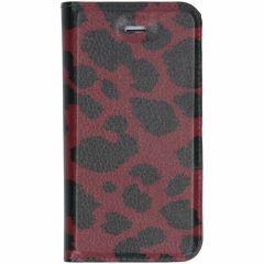 Custodia Portafoglio Design  iPhone SE / 5 / 5s - Panther Red