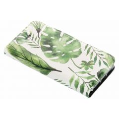 Custodia Portafoglio Design  iPhone SE / 5 / 5s - Monstera Leafs