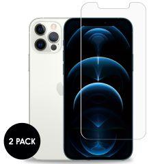 iMoshion Pellicola Protettiva in Vetro Temperato 2 Pezzi iPhone 12 (Pro)