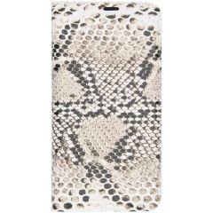 Custodia Portafoglio Design  Samsung Galaxy A10 - Snake
