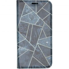Custodia Portafoglio Design  Samsung Galaxy A20e - Blue Graphic