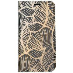 Custodia Portafoglio Design  Samsung Galaxy A20e - Golden Leaves