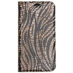 Custodia Portafoglio Design  Samsung Galaxy A20e - Animal Print