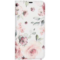 Custodia Portafoglio Design  Samsung Galaxy A70 - Pink Flower