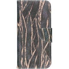 Custodia Portafoglio Design  Samsung Galaxy A70 - Wild Leaves