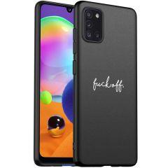 iMoshion Cover Design Samsung Galaxy A31 - Fuck Off