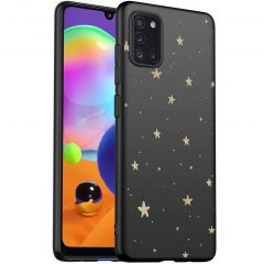 iMoshion Cover Design Samsung Galaxy A31 - Stars Gold