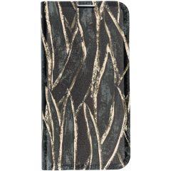 Custodia Portafoglio Design  Samsung Galaxy S10e - Wild Leaves