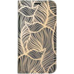 Custodia Portafoglio Design  iPhone 11 Pro - Golden Leaves