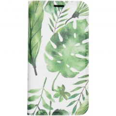 Custodia Portafoglio Design  iPhone 11 Pro - Monstera leafs design