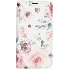 Custodia Portafoglio Design  iPhone 11 Pro - Pink Flower