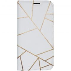 Custodia Portafoglio Design  iPhone 11 Pro Max - White Graphic