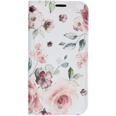 Custodia Portafoglio Design  iPhone 11 Pro Max - Pink Flower