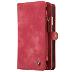 CaseMe Portafoglio 2 in 1 in Pelle de Luxe iPhone 6 / 6s - Rosso