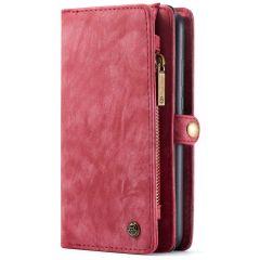 CaseMe Portafoglio 2 in 1 in Pelle de Luxe Samsung Galaxy A70 - Rosso