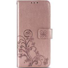 Custodia Portafoglio Fiori di Trifoglio Huawei P Smart (2020) - Rosa