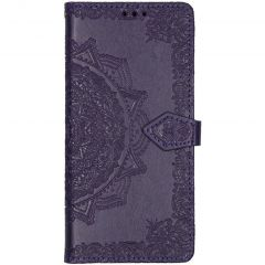 Custodia Portafoglio Mandala Samsung Galaxy A71 - Viola